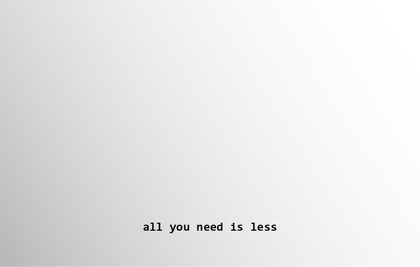 Wat is duurzaam minimalisme?