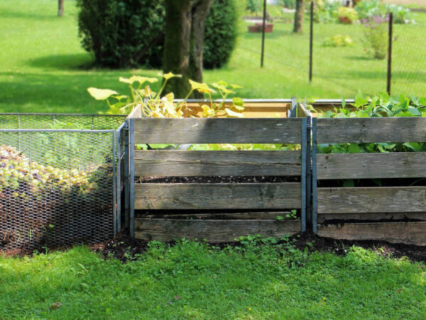 compostbakken buiten