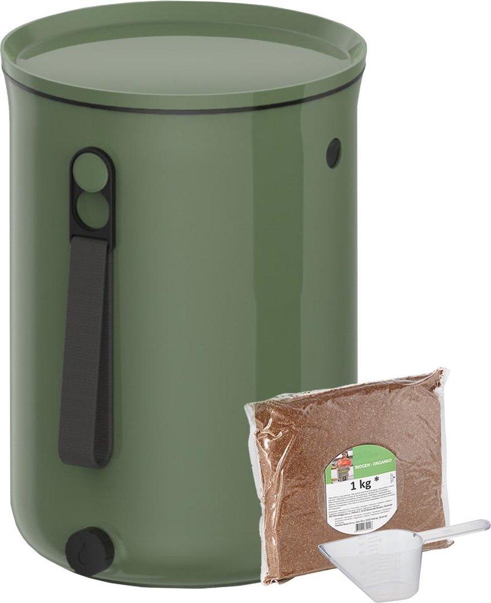 bokashi emmer compostbak binnen