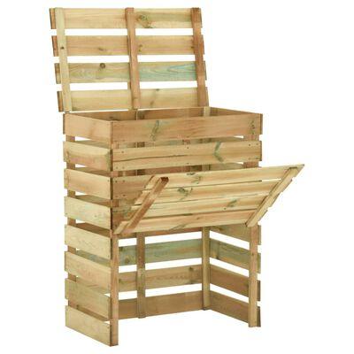 houten compostbak